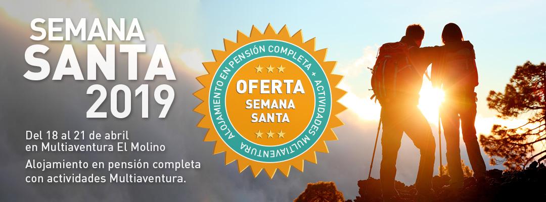 Oferta Semana Santa 2018 En Multiaventura El Molino